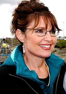 offical palm reader photo of Sarah Palin